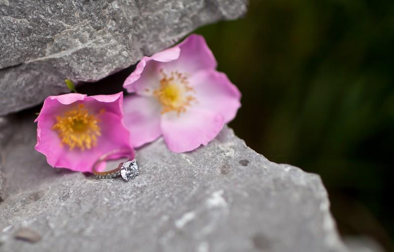 Wild Rose Engagement Ring